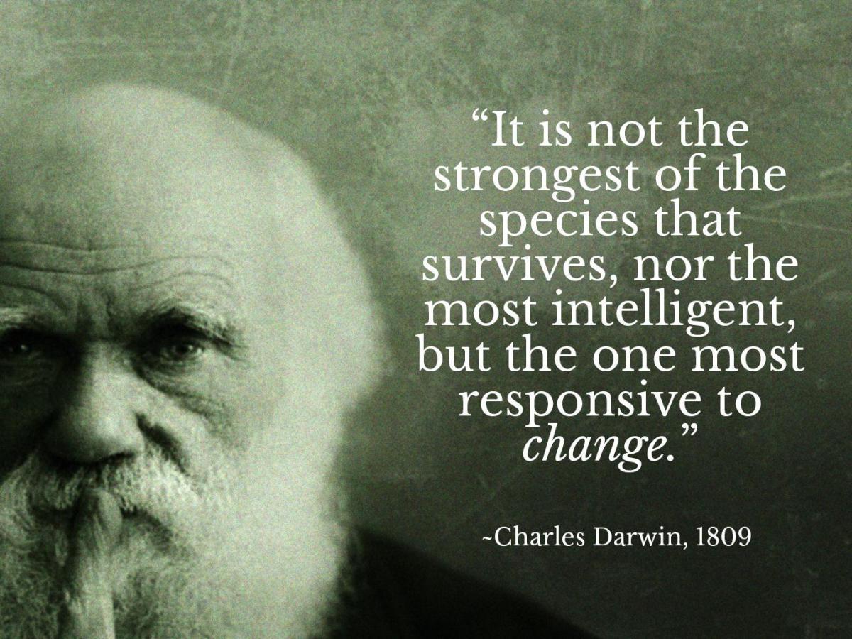 Outra teoria Darwiniana prova-se verdadeira
